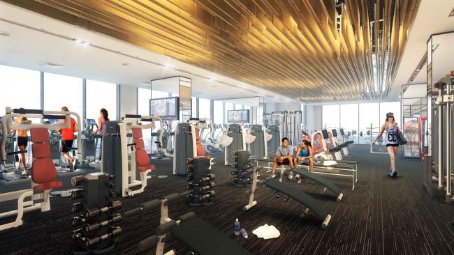 Phòng Gym cao cấp