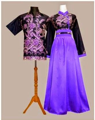 Gambar Model Gamis Batik Modern