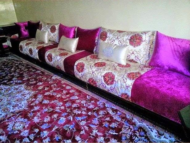 تصاميم ديكورات غرف جلوس مغربية حديثة