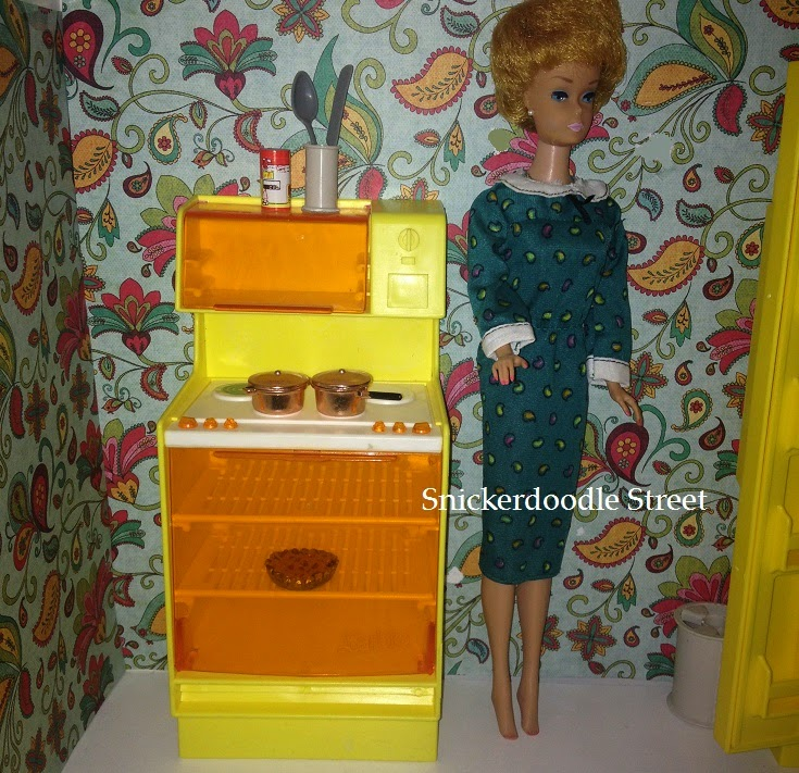 The Ag Minis Of Snickerdoodle Street Vintage Barbie Dream House