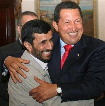 Hugo Chávez Frías y Mahmoud Ahmadinejad