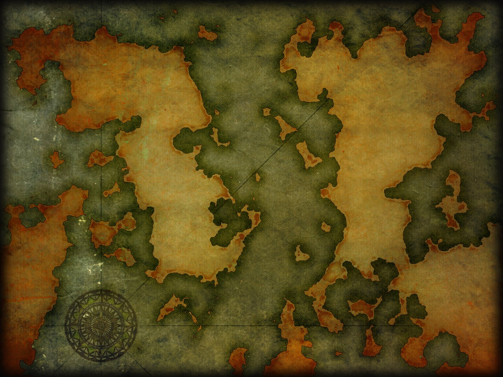 Monday Map Another Free Blank Map The Labyrinth - Free blank maps