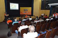 Palestra 'Morar com Segurança' foi ministrada pelo major Gomes da Defesa Civil Estadual