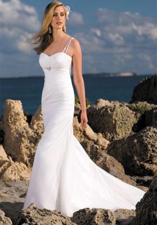 Fashion world wedding dress and island wedding dresses for Island wedding dresses