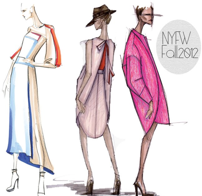 fabulous doodles fashion illustration blog by brooke hagel