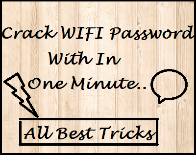 how to access WiFi without a password in a minute