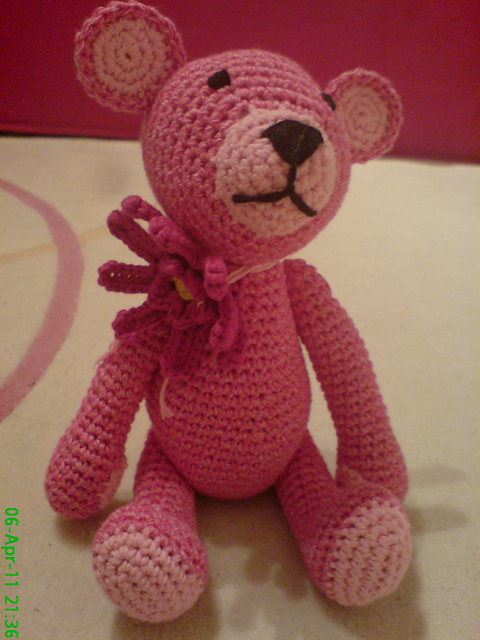 crochet teddy bear | eBay - Electronics, Cars, Fashion