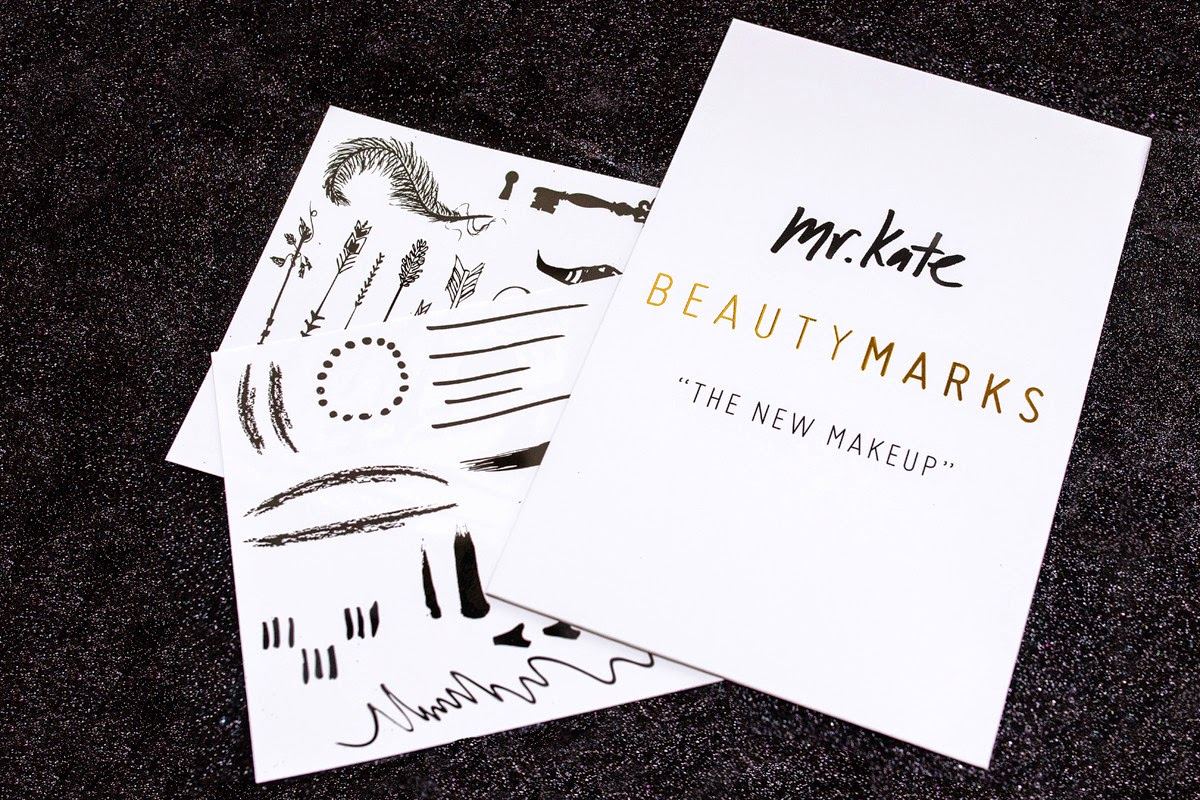 "Mr. Kate Beauty Marks, ""The New Makeup"" #beautymarks"