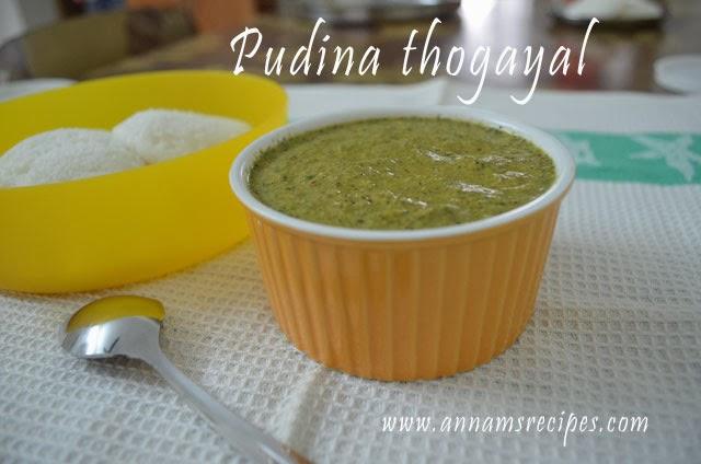 Pudina Thogayal
