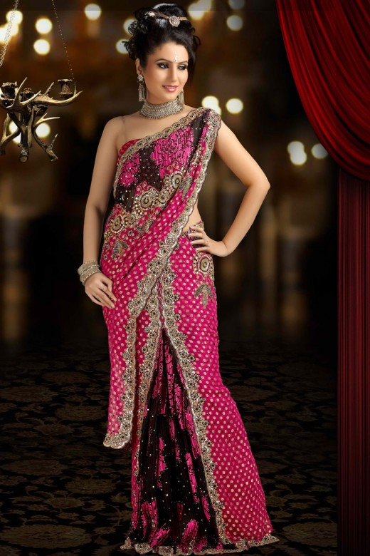 Designer sarees fashion glamorous collection