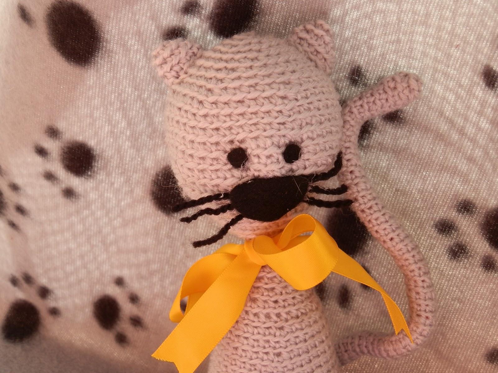 Amigurumi Gato Paso A Paso : Awesome needles: amigurumi gato y nuevo pedido