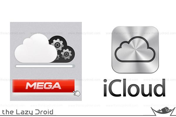 logo mega icloud