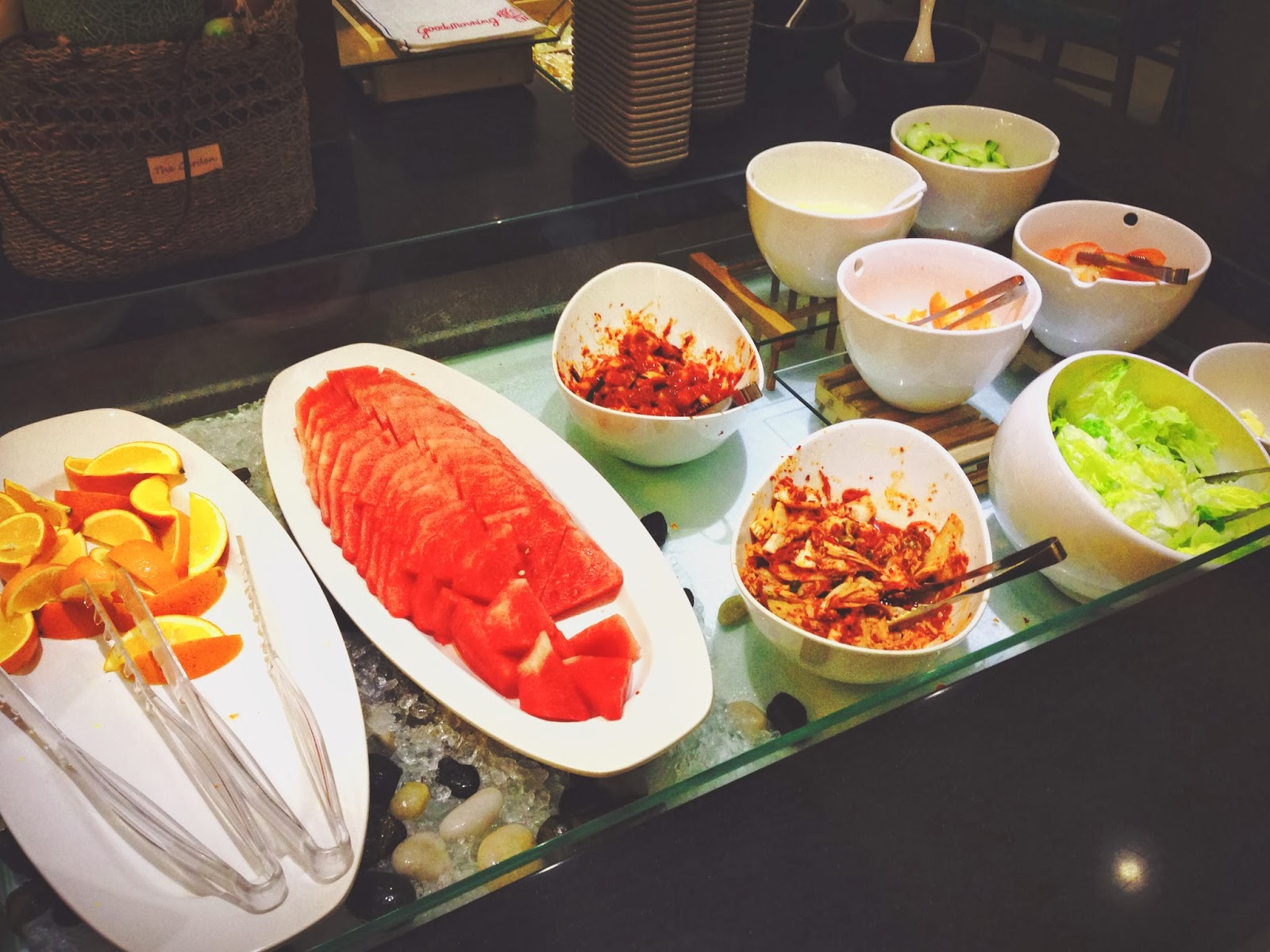 Manbok Korean BBQ Salad Bar
