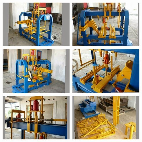MESIN PRESS CASIS,VELG,SEGITIGA,DLL. JBB PRESSINDO MPU 60T-5H /MHP 80T-7H (MULTY HYDRO PRESS)
