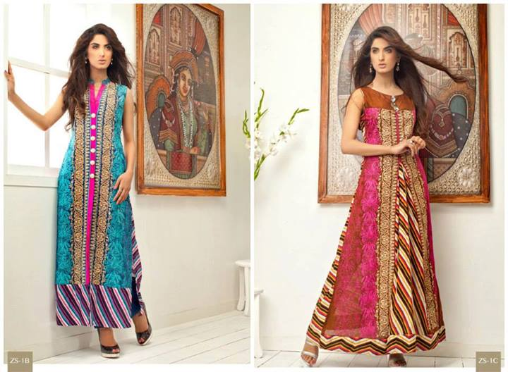 Pehnawa+Eid+Dress+Latest+Collection+by+ZS+Textiles+(11) Latest Pehnawa Eid Dresses by ZS Textiles