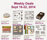 Items on Sale! Sept 16 to Sept 22