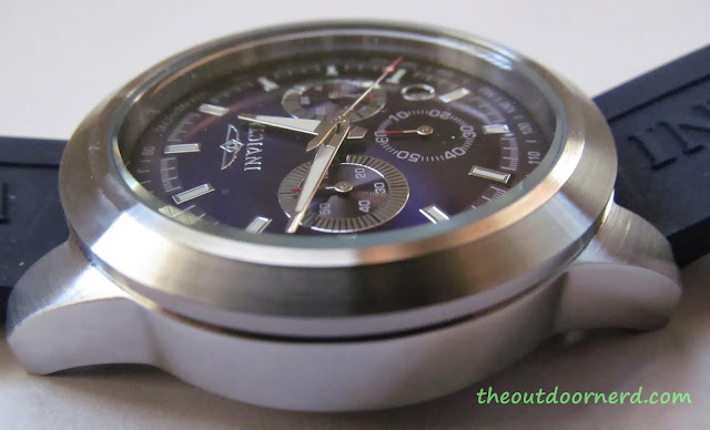 Invicta Men's 15200 Specialty Chronograph Watch - Closeup Of Case 6