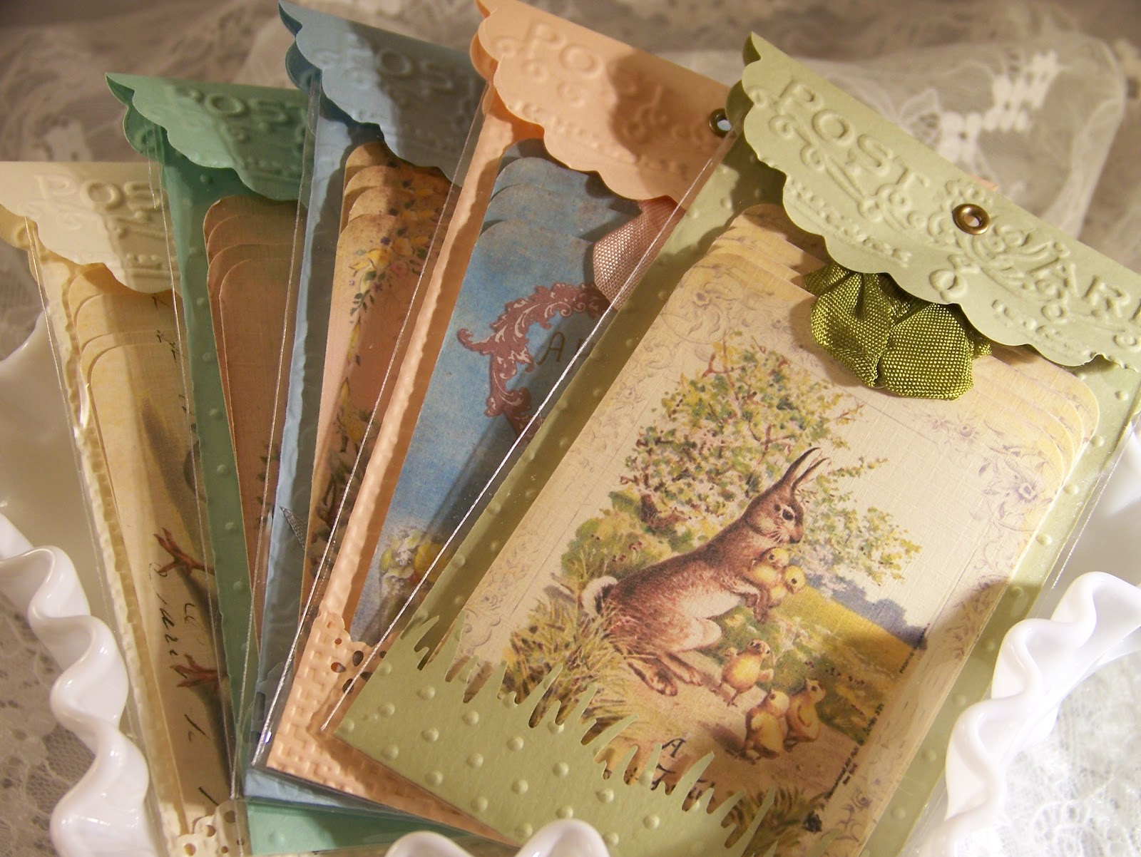 Tattered treasures easter tags are ready and a vintage easter easter tags are ready and a vintage easter card image negle Choice Image