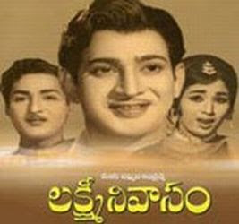 Lakshmi Nivasam 1968 Telugu Movie Watch Online
