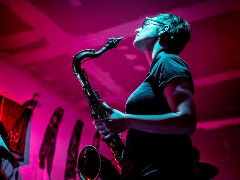 Anna Webber, saxophonist