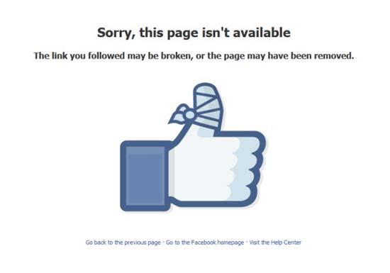 5 Sebab Akaun Facebook Boleh Disekat