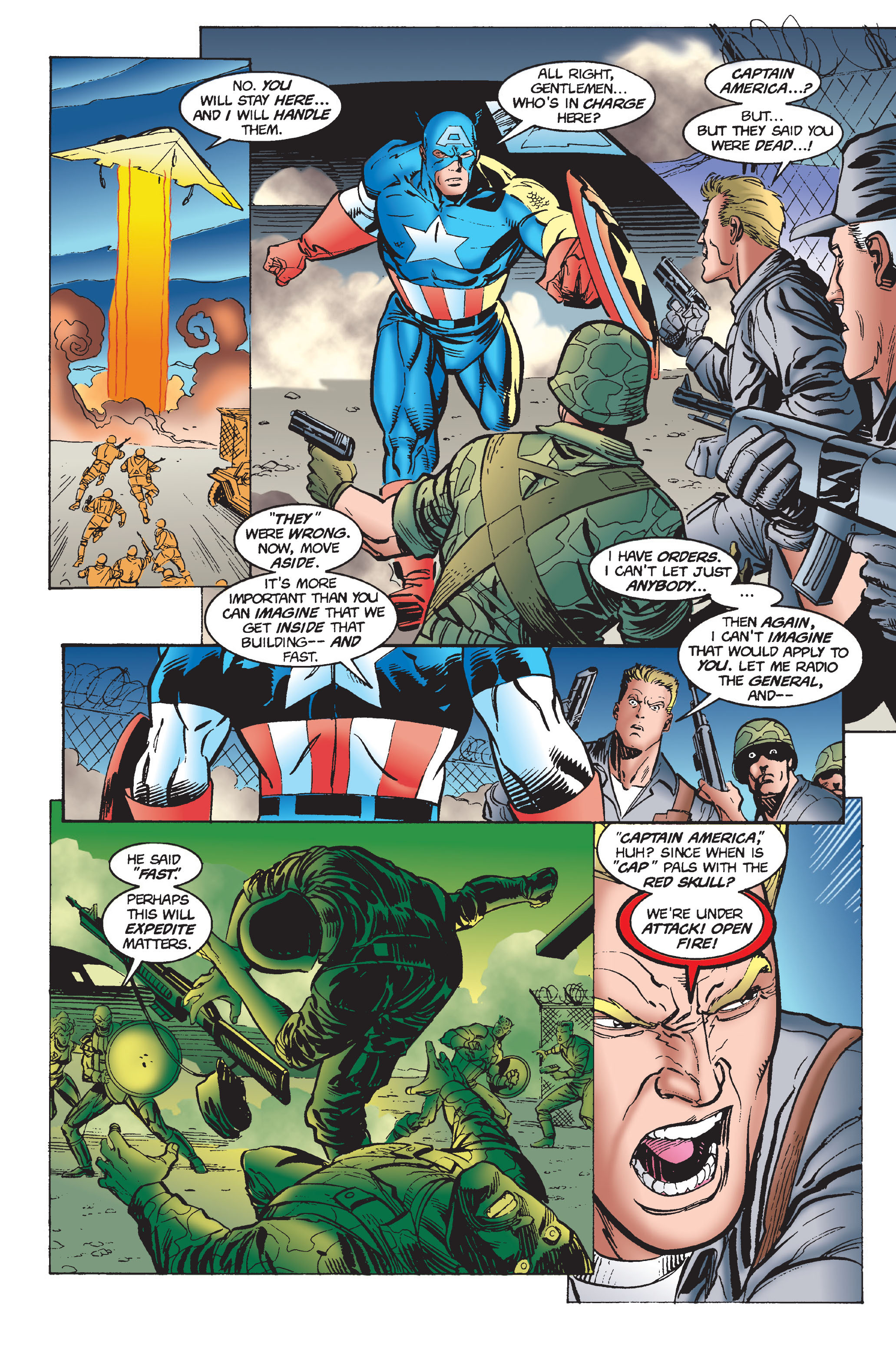 Captain America (1968) Issue #446 #400 - English 16