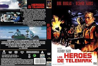 Carátula dvd Los heroes de Telemark