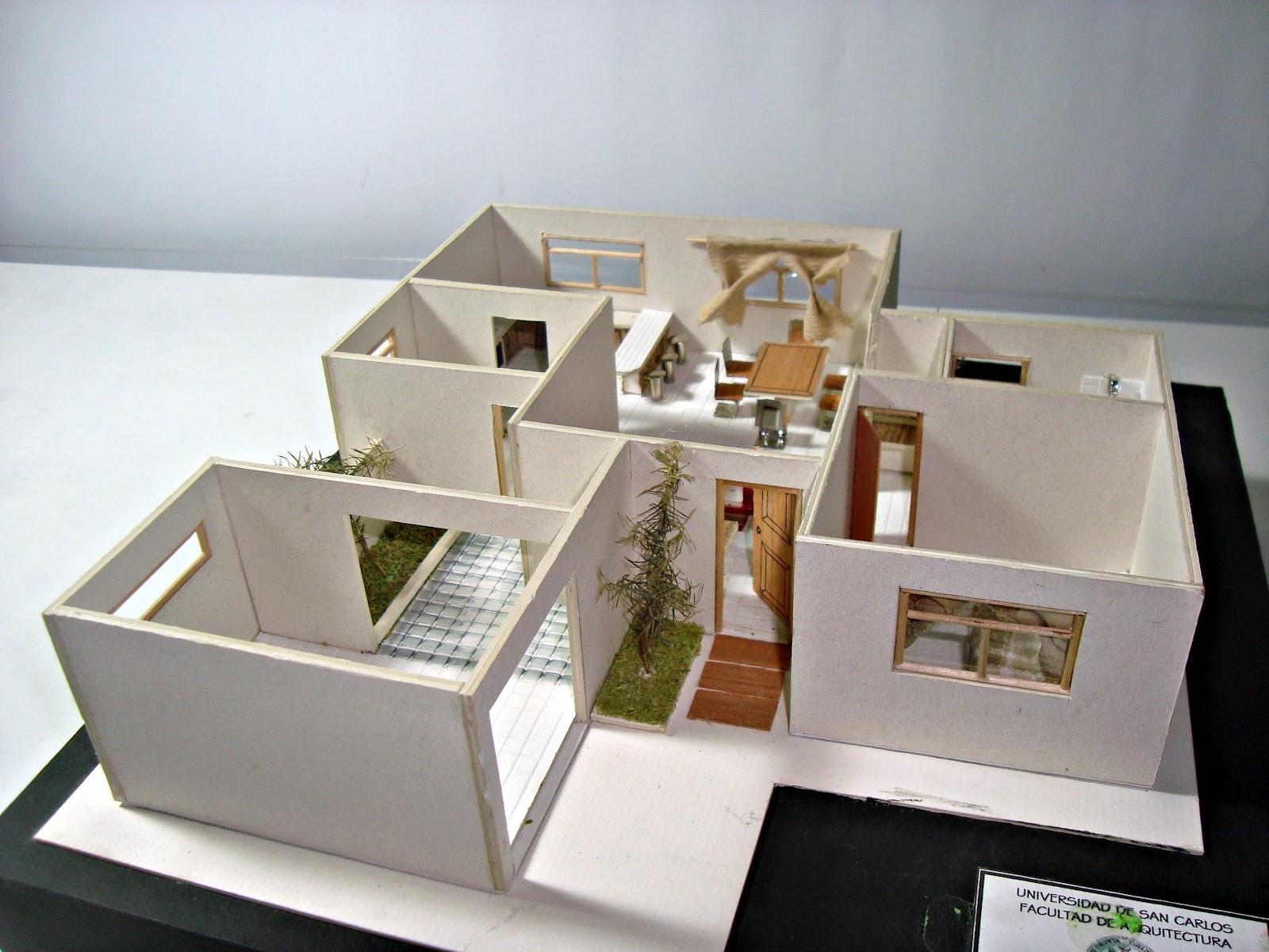Portafolio Dise O Arquitect Nico Modelos Arquitectonicos 1