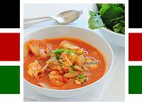 Kenyan Amaranth Ukwaju Fish Soup by jules stone soup