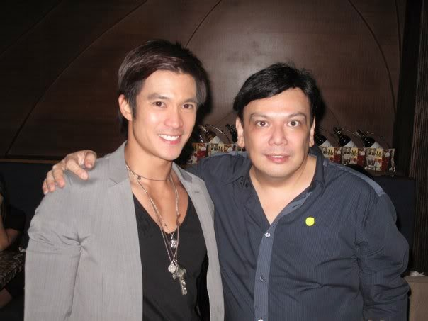 Diether Ocampo and Deo Endrinal
