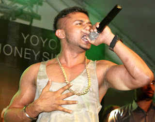 Honey Singh's live concert in Mumbai