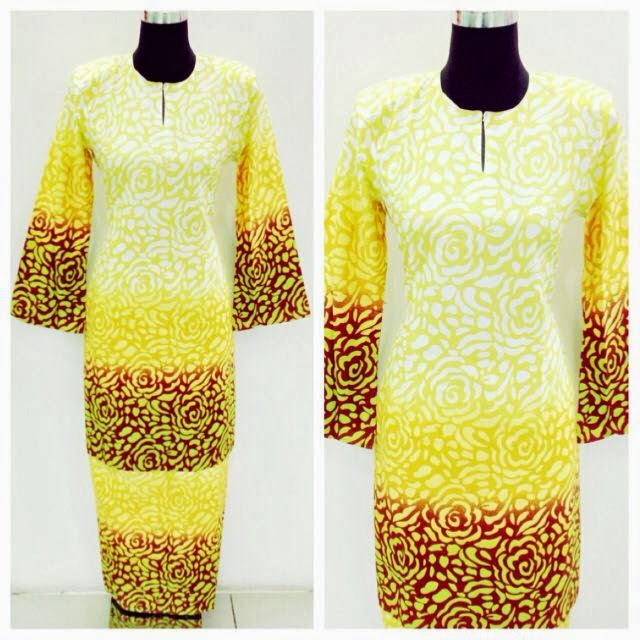 KURUNG MODEN READY MADE kurung moden cotton baldu