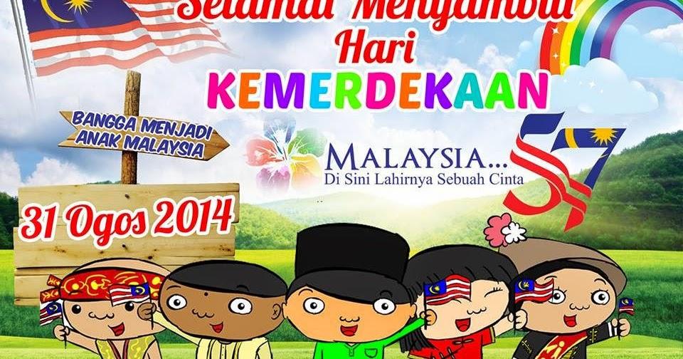 Pusat sumber sekolah kertas cadangan bulan kemerdekaan 2014 for Mural 1 malaysia
