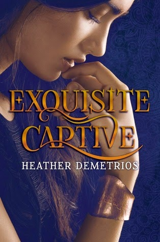 Exquisite Captive Heather Demetrios book cover