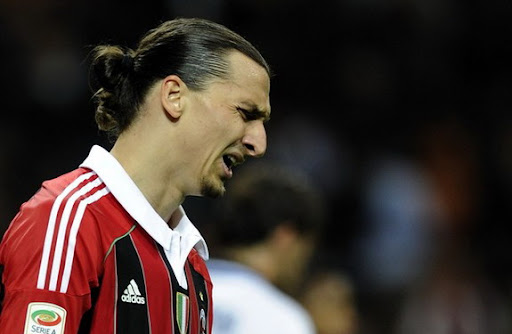 Zlatan Ibrahimović almost cries knowing that Zlatan Ibrahimović didn't win anything this year