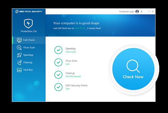 Antivirus Gratis Terbaik 360 Total Security