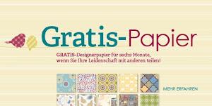 Gratis Designerpapier zum Demo-Einstieg im Nov+ Okt!