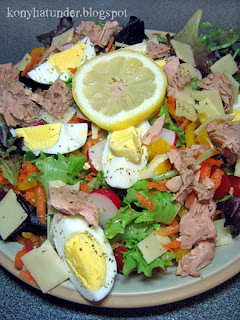 tuna-salad-with-eggs