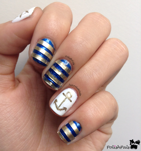 polish pals nautical nails