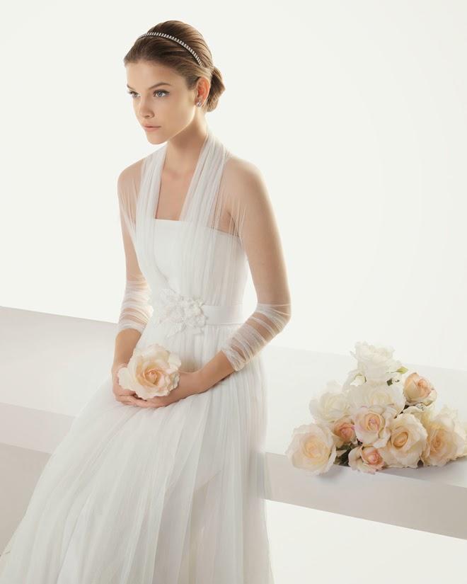 Link camp wedding dress collection 2014 36 rosa clara for Wedding dress rosa clara