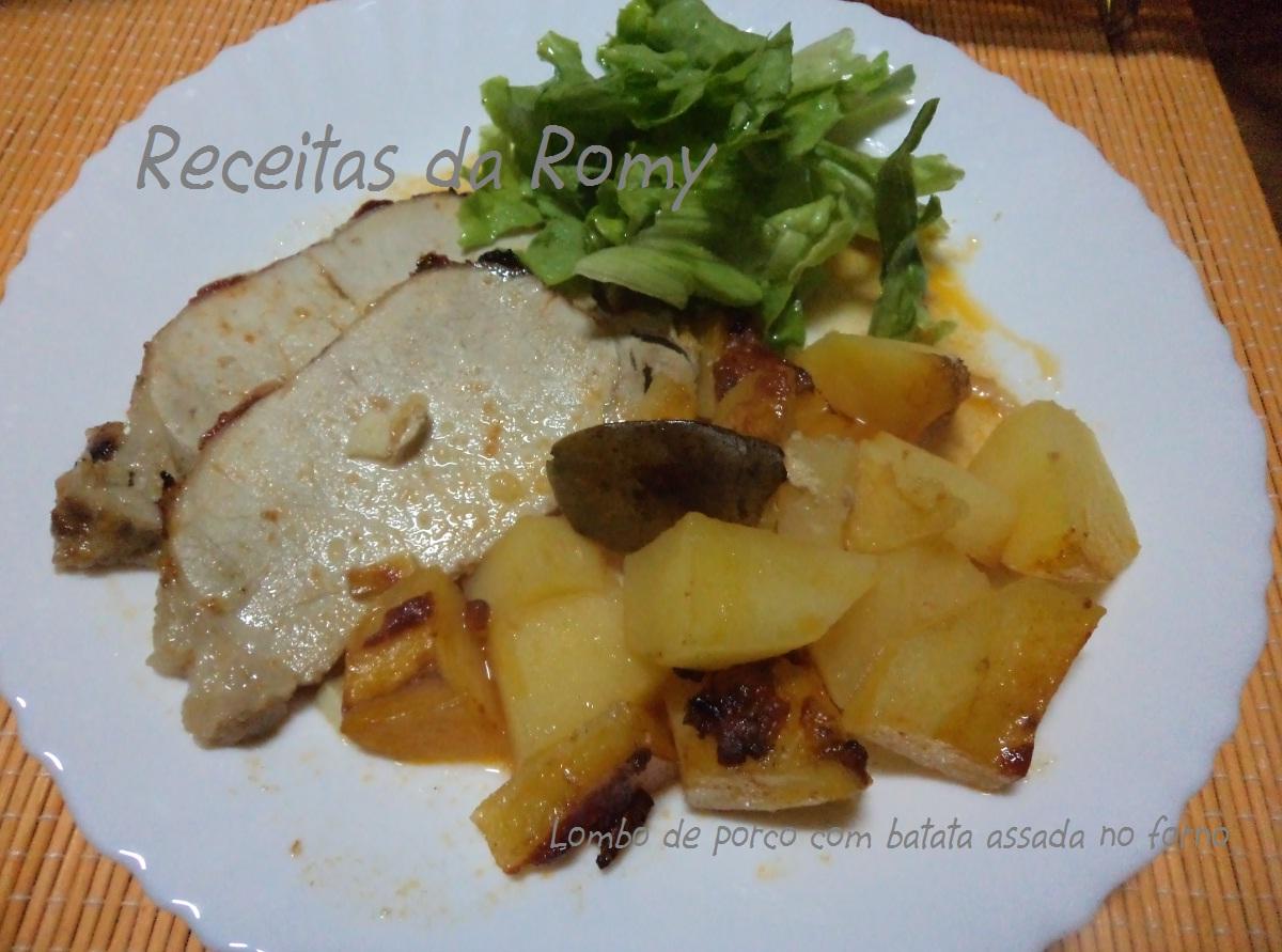 Preferência Lombo de porco com batata assada no forno AI81