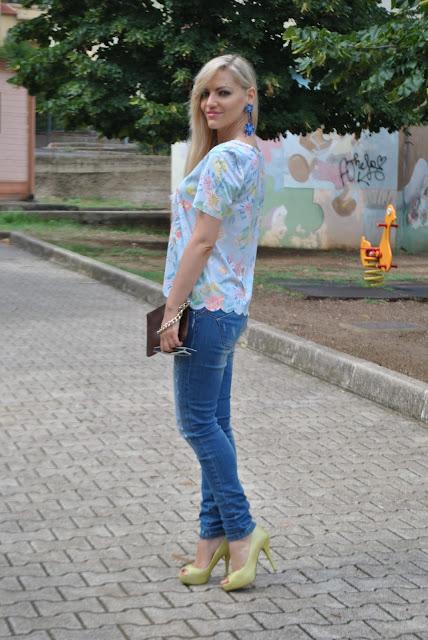 outfit azzurro come abbinare l'azzurro abbinamenti azzurro mariafelicia magno fashion blogger outfit estivi outfit estate 2015 outfit estivi donna summer outfits light blue outfits