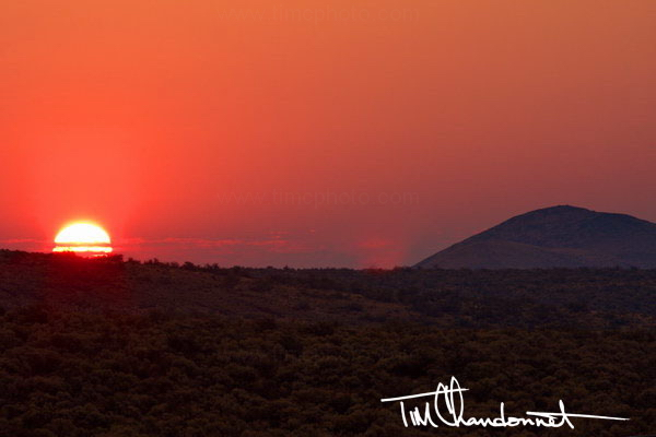 Tim Chandonnet Photography - Sunrise over the Ginkgo Petrified Forest State Park in Central Washington