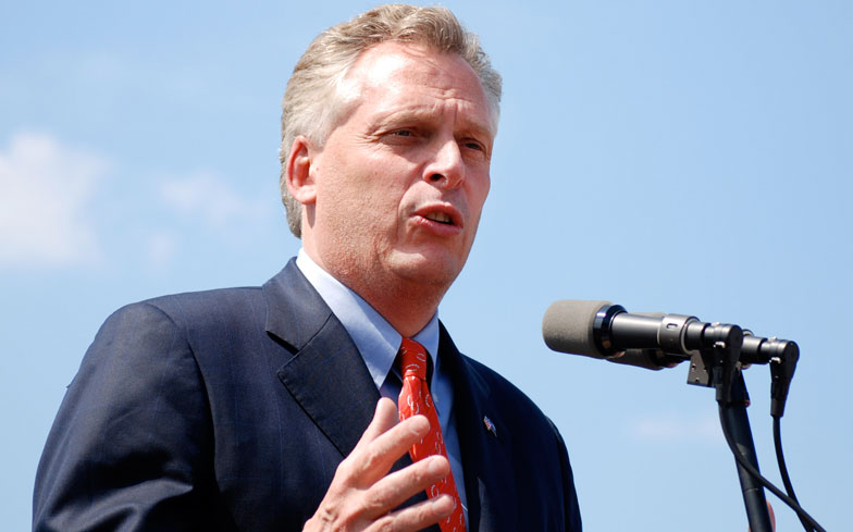 WHITE SEPARATISTS GO HOME - TERRY MCAULIFFE