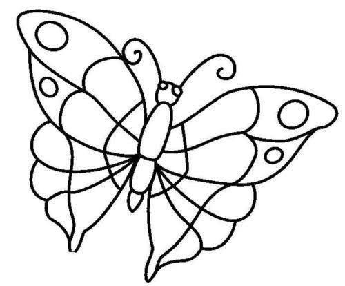 Шаблоны трафареты бабочки часть 1