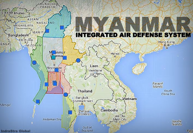 Analysis Myanmar Integrated Air Defense System