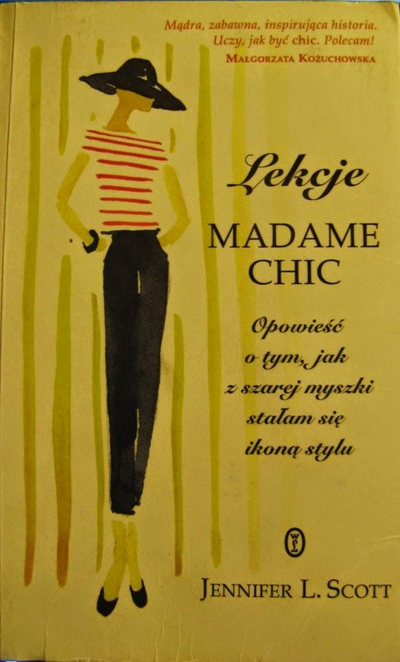 okładka książki Lekcje Madame Chic