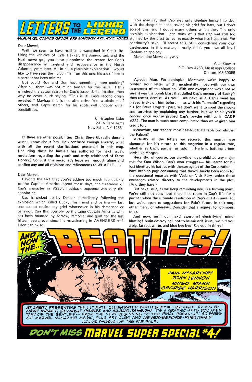 Captain America (1968) Issue #223 #137 - English 19