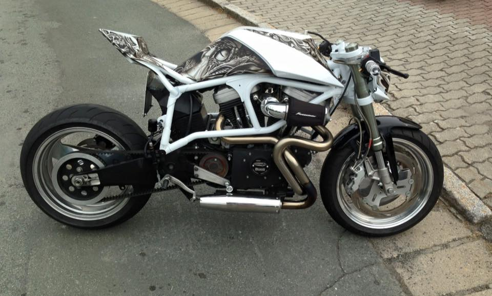 Mercenary Garage Streetfighter Buell