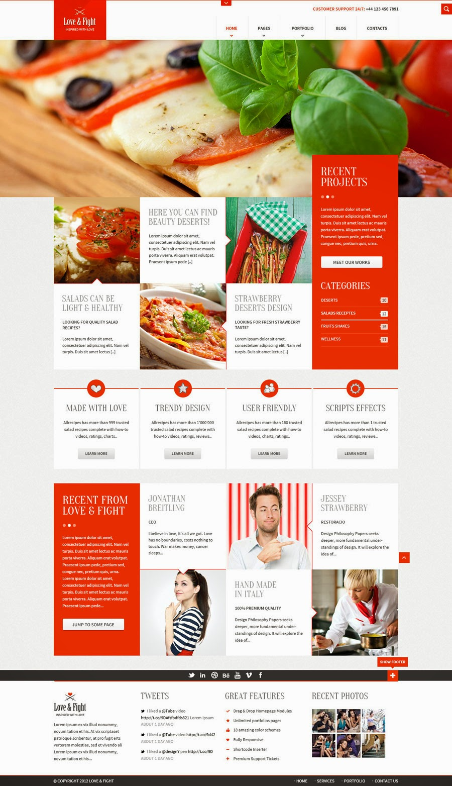 Free web template download